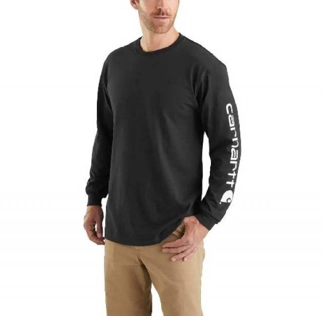 9af744d69ee National Workwear  Men s Carhartt Long-Sleeve Logo T-Shirt