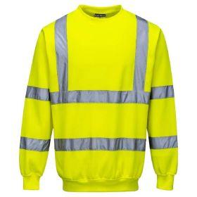 c32e2aade0bb Men's Portwest Hi-Vis Sweatshirt Men's Portwest Hi-Vis Sweatshirt