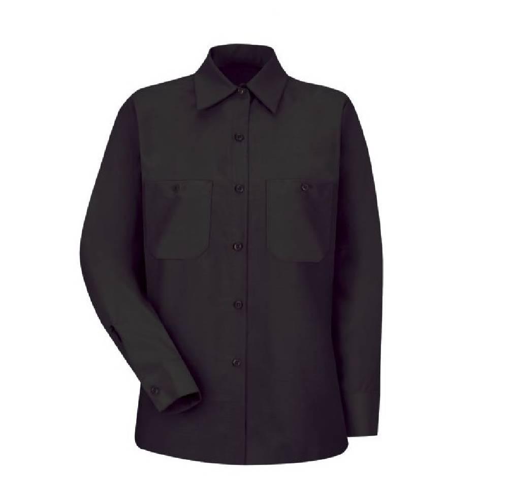 1aeba55a National Workwear: Women's Red Kap Industrial Long Sleeve Work Shirt