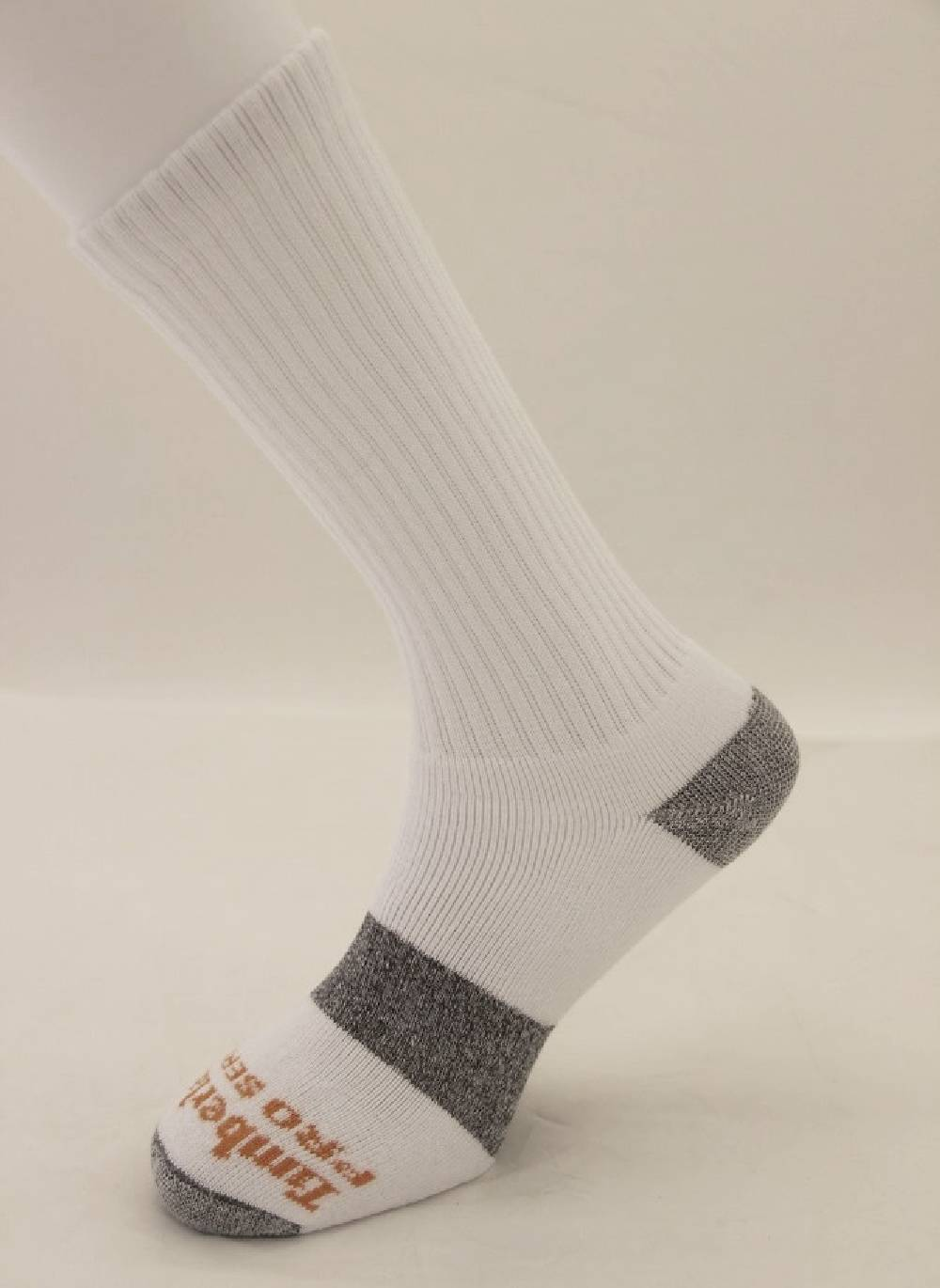 09a94af11 Timberland Pro Padded Footbed Crew Sock 3 Pack White